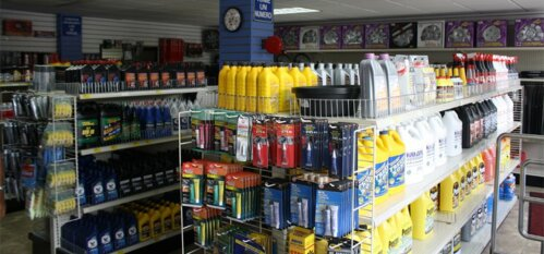 Contamos con servicio de Torno, Prensa y Amplia gomera. Sistema de caja expreso con su número de Compra y Servicio de Pedido especial.