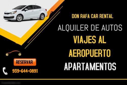 """•Servicio de viajes al aeropuerto las 24 hrs, los 7 días de la semana  •Renta de autos, mini vanes, vanes, pick-up y """"trucks"""" •Alquiler de apartamentos para tus vacaciones"""