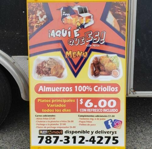 Productos o Servicios Servicio de Delivery en el pueblo de Humacao por 1 dólar:  *Desde en área de la playa hasta Humacao pueblo*