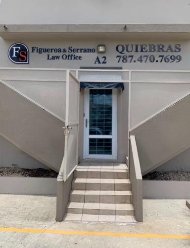 Figueroa & Serrano, PSC es un oficina legal de Quiebra compuesta por los licenciados Roberto A. Figueroa Colón y Tania Serrano Díaz.