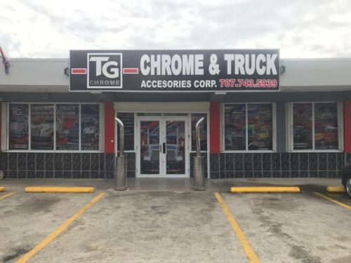 TG Chrome con 15 años en el mercado y donde siempre encontrarás lo que buscas. Contamos con el suplido más completo para que mantegas tu unidad al dia. Variedad de metales polish de las marcas reconocidas. Somos especialistas en piezas genuinas las cuales estarán disponible en nuestro establecimiento.