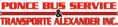 Ponce Bus Services / Transporte Alexander Inc.