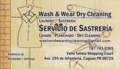 Wash & Wear Dry Cleaning