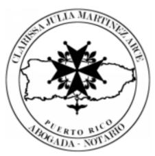 Lcda. Clarissa Julia Martínez Arce
