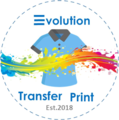 Camisetas Impresas Evolution Transfer Print