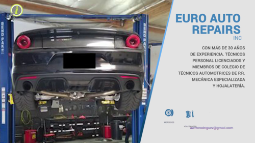Euro Auto Repairs Inc Infopaginas
